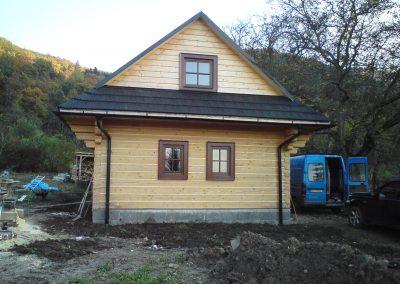 Tradičná drevenica Žarnovica